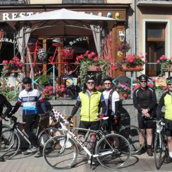 Marmot Tours Alpine Classic Cols Road Cycling Holiday - Lunch Stop