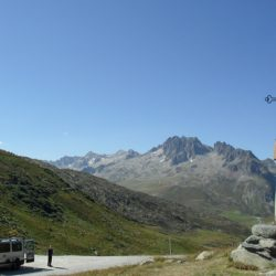 Marmot Tours Alpine Classic Cols Road Cycling Holiday - Nice parking spot