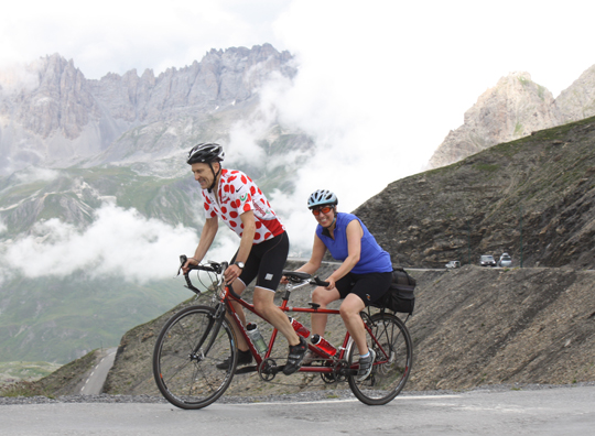 Marmot Tours Alpine Classic Cols Road Cycling Holiday Tandem