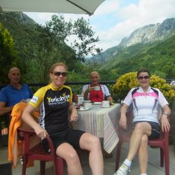 Marmot Tours Classic Cols of the Picos Cycling Holiday - Coffee Time