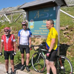 Marmot Tours Classic Cols of the Picos Cycling Holiday - Angliru Sign