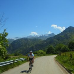 Marmot Tours Classic Cols of the Picos Cycling Holiday - The boss on his bike