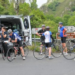 Marmot Tours Classic Cols of the Picos Cycling Holiday - Van Support