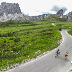 Climbing in the Dolomites with Marmot Tours road cycling holidays