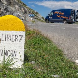 Climbing the Galibier with Marmot Tours road cycling holidays