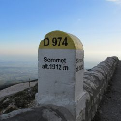 Marmot Tours Club de Cingles Ventoux Road Cycling Challenge - Summit Marker