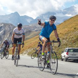 Cycling in Livigno on the Marmot Tours Dolomites classics road cycling holiday