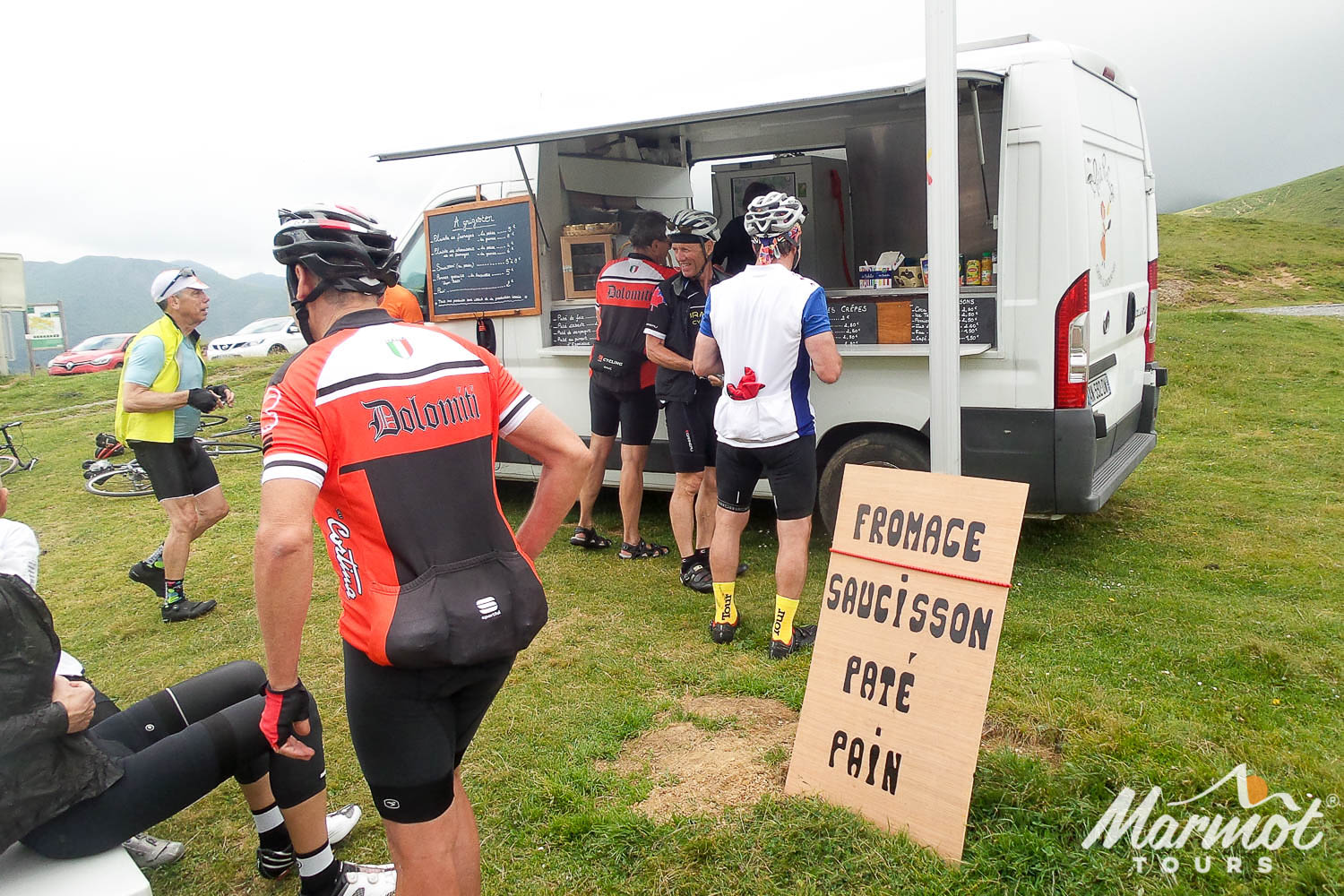 Image result for cycling fast food