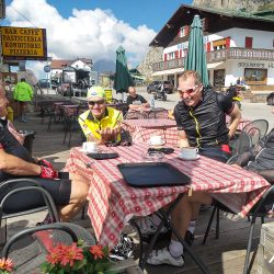 Lunch on the Stelvio with Marmot Tours