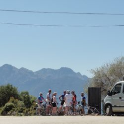 Marmot Tours Raid Corsica Cycling Challenge - Van Support