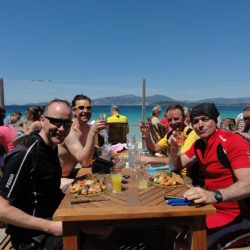 Marmot Tours Raid Corsica Cycling Challenge - Lunch by the Sea