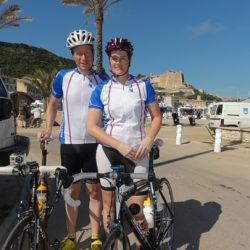Marmot Tours Raid Corsica Cycling Challenge - Palm Trees!