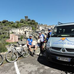Marmot Tours Raid Corsica Cycling Challenge - Snack Stop