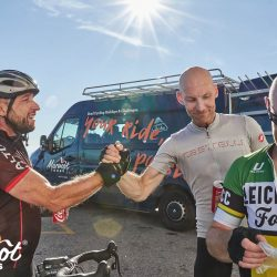 Mates on Ventoux with Marmot Tours