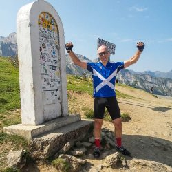Pure emotion at the summit of the Aubisque with Marmot Tours on the raid pyrenean