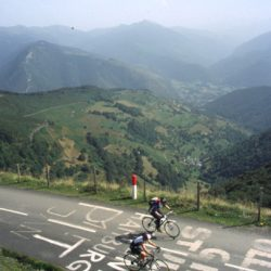Marmot Tours Pyrenean Classic Cols Road Cycling Holiday - Col d'aspin Climb