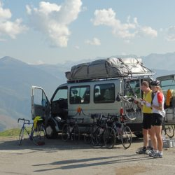 Marmot Tours Pyrenean Classic Cols Road Cycling Holiday - Van Support