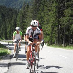 Marmot Tours Raid Dolomites Cycling Challenge - Going for it