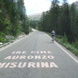Marmot Tours Raid Dolomites Cycling Challenge - Graffitti