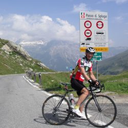 Marmot Tours Raid Dolomites Cycling Challenge - Splugen Pass