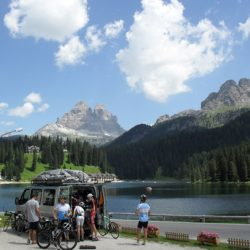 Marmot Tours Raid Dolomites Cycling Challenge - Van By Lake