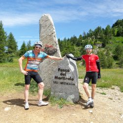 Summit of the Mortirolo with marmot Tours in the Dolomites