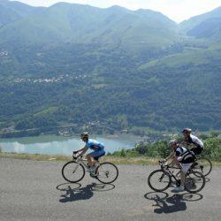 Marmot Tour de France Road Cycling Holiday - Lake Views