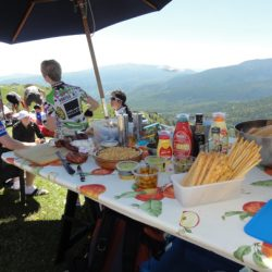 Marmot Tour de France Road Cycling Holiday - Lunch on Marmot