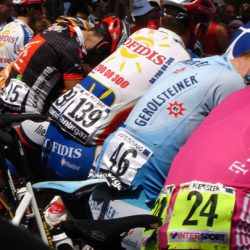 Marmot Tour de France Road Cycling Holiday - Pro Jerseys at Stage Start
