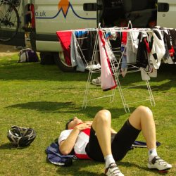 Marmot Tours Raid Pyrenean Cycling Challenge - A moments rest