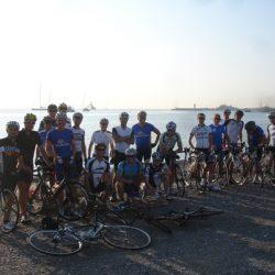 Marmot Tours Raid Alpine Cycling Challenge- Beach Finish Antibes