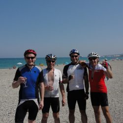 Marmot Tours Raid Alpine Cycling Challenge - Celebrating