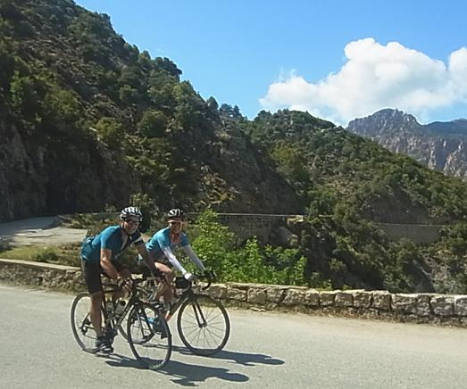 Marmot Tours Road Cycling Holidays - Raid Corsica Challenge