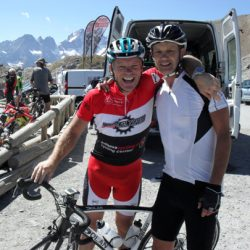Marmot Tours Raid Alpine Cycling Challenge - col top photos