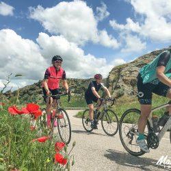 All smiles on the Marmot Tours Raid Sardinia