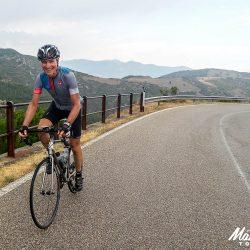 Happy to be cycling the Marmot Tours Raid Sardinia