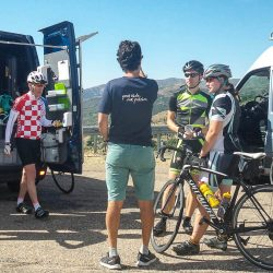 Marmot legend Pedro offers support on the Raid Sardinia road cycling holiday