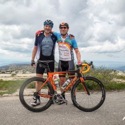 Mates holiday together with Marmot Tours on the popular Raid Sardinia road cycling holiday