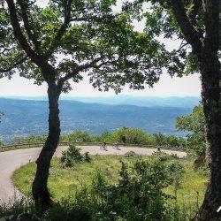 Passo del Limbara on the Marmot Tours Raid Sardinia road cycling challenge holiday