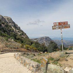 Rustic monument on the Marmot Tours raid Sardinia