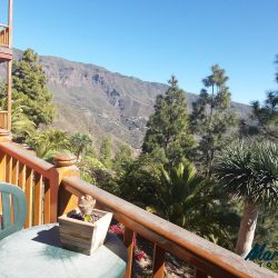 View from the terrace of the Hotel Las Tirajanas, Gran Canaria