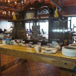 Breakfast buffet at the Hotel Las Tirajanas, Gran Canaria