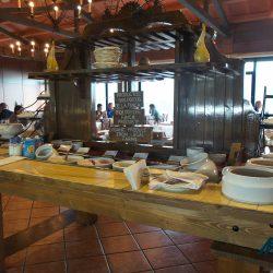 Breakfast buffet at the Hotel Las Tirajanas, Gran Canaria