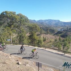Volcanic landscapes in Gran Canaria