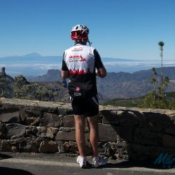 View from the summit of Picos de las Nieves