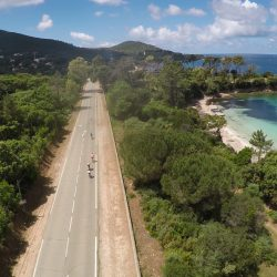 Road cycling in Corsica just south of Ajaccio :: Marmot Tours