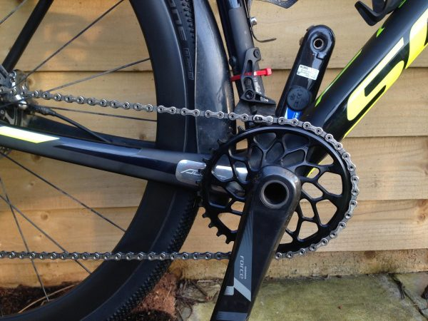 AbsoluteBlack oval chainring - helping to smooth out the pedal stroke