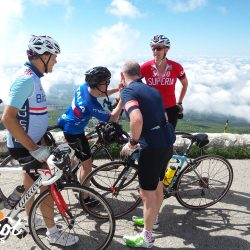 Comparing Strava times at the summit of Ventoux with Marmot Tours