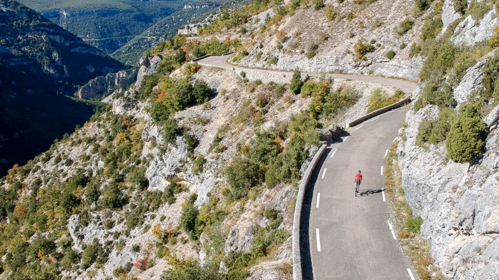 Descending the Gorge de Nesque with Marmot Tours