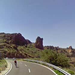 Cyclist on a Cycling holidays in Tenerife with Marmot Tours.